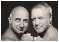 """Christoph Fälbl & Reinhard Nowak mit ihrem Programm """"Helden für nix"""""""